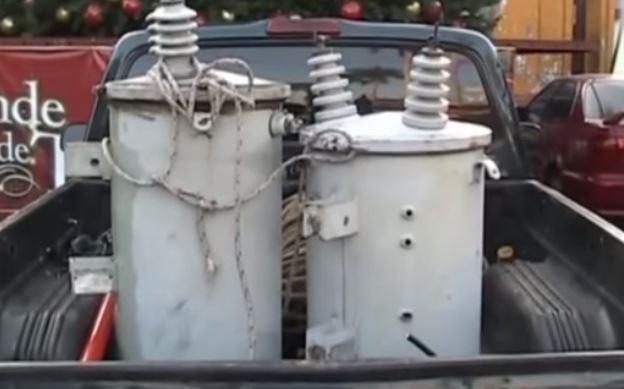 El robo de transformadores se reporta en varios puntos del país. (Foto Prensa Libre: Hemeroteca PL)
