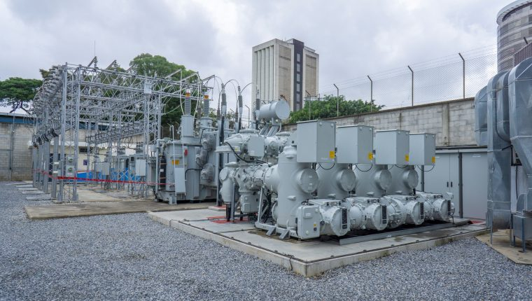 La tecnología GIS permite que subestaciones de electricidad tengan mayor capacidad ocupando menos espacio. (Foto, Prensa Libre: Trelec).