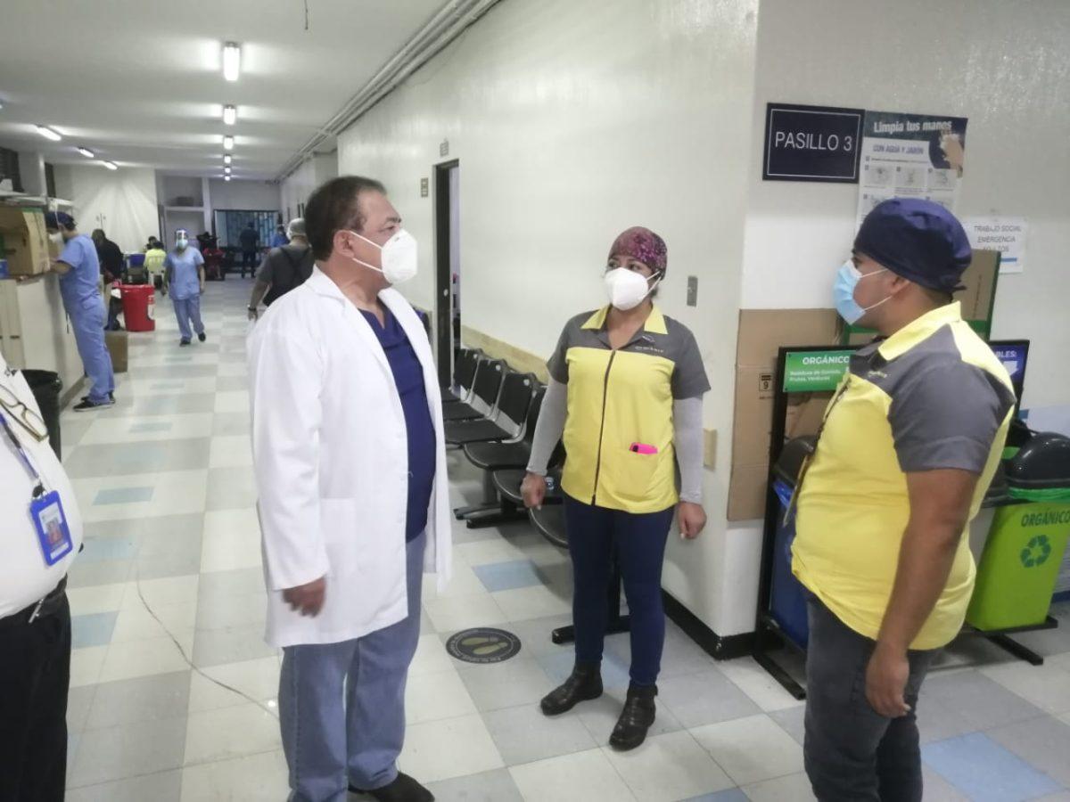 Coronavirus: Se reducen los casos en un 50% en el Hospital General San Juan de Dios