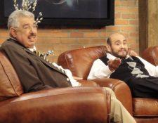 """Rubén Aguirre y Édgar Vivar formaron parte del elenco del programa """"Chespirito"""". (Foto Prensa Libre: Facebook Édgar Vivar)"""