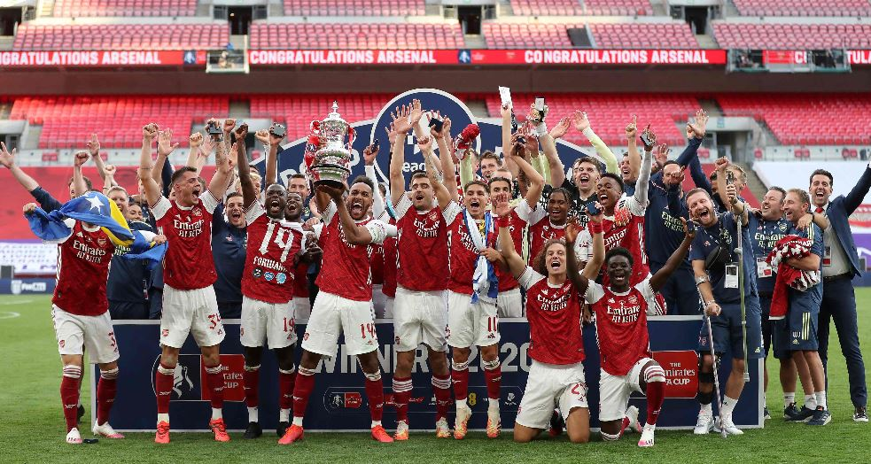 Arsenal derrota al Chelsea por 2-1 y se lleva la Copa de Inglaterra