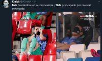 Gareth Bale es protagonista de los memes por no estar convocado para la Champions League. (Foto Prensa Libre: Twitter)