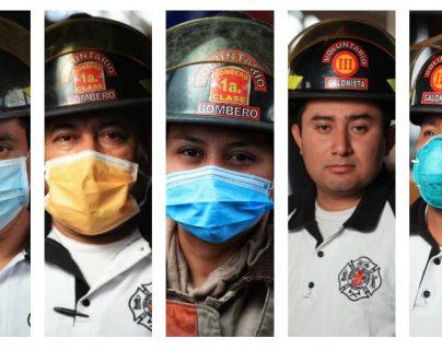 Los Bomberos Voluntarios festejan 69 años de servicio en Guatemala. (Foto Prensa Libre: Carlos Hernández Ovalle)