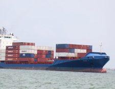 La marina mercante es la flota de los barcos que se usan  para el transporte de carga y comercio.  (Foto, Prensa Libre: Hemeroteca PL).