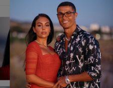 Georgina y Cristiano disfrutan de unos días de vacaciones en las costas italianas. Foto Prensa Libre: Tomada de redes.