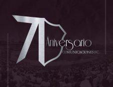 Comunicaciones festeja hoy 16 de agosto 71 años de fundación. Foto Prensa Libre: Tomada de redes.