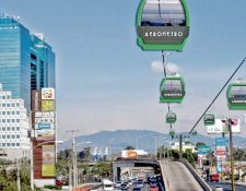 Así quedaría el Aerometro según la comuna capitalina. (Foto Prensa Libre: Hemeroteca PL)