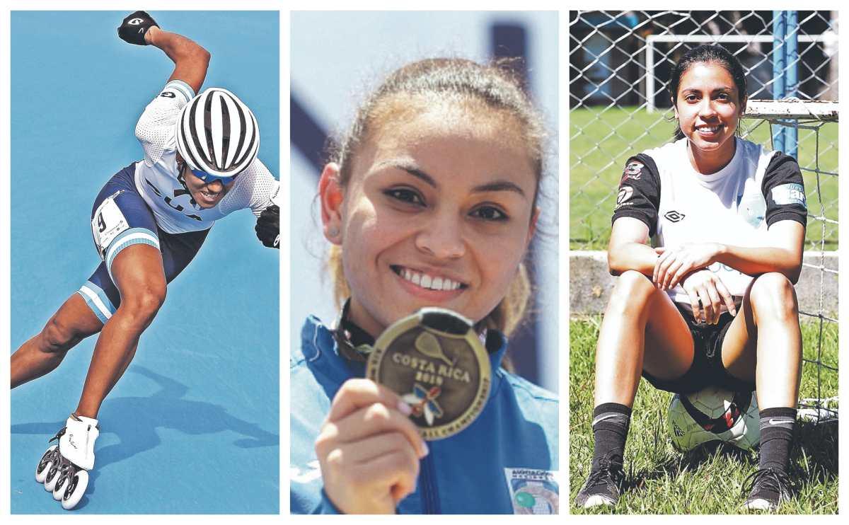 Ellas son las seis deportistas de Guatemala que aparecen en el listado de las 100 mujeres más poderosas de Forbes