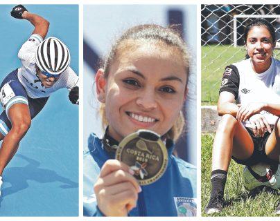 Seis deportistas guatemaltecas destacan entre las 100 mujeres más poderosas de Centroamérica y República Dominicana. (Foto Prensa Libre: Hemeroteca PL)