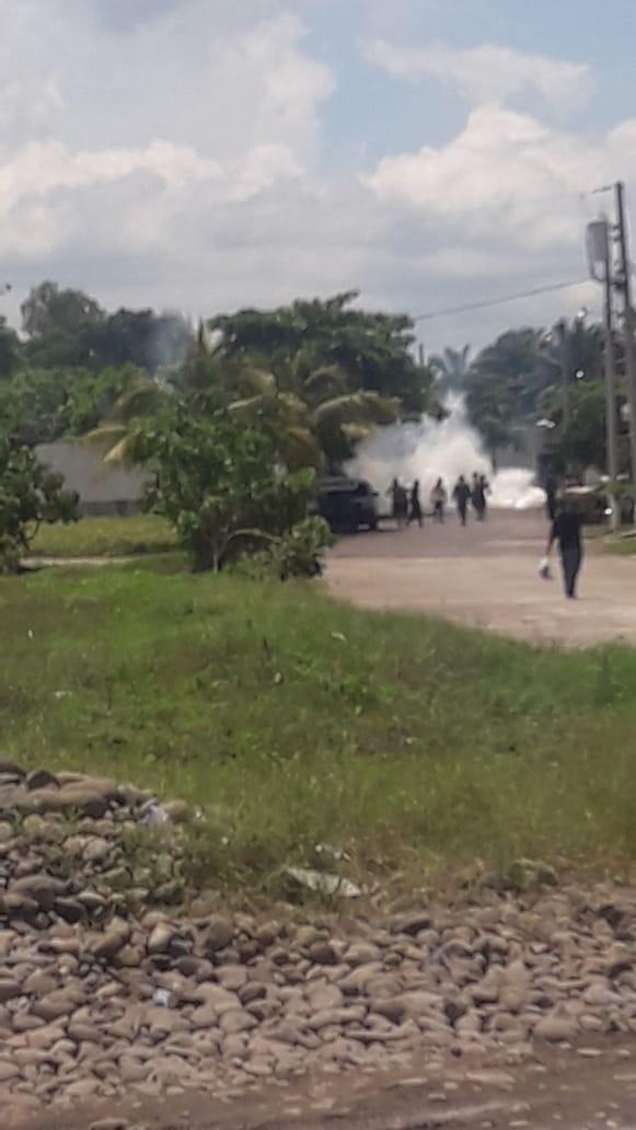 Cierran aduana 2 de Tecún Umán por disturbios y se reportan capturas