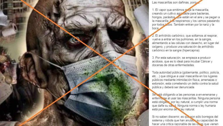Captura de pantalla de una publicación en Facebook tomada el 10 de junio de 2020. (Foto Prensa Libre: Agence France-Presse)