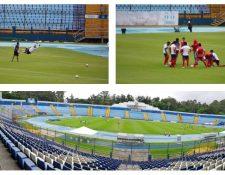 Este martes 11 de agosto regresó la actividad en el futbol nacional. (Foto Prensa Libre: Norvin Mendoza y Fernando Cabrera)
