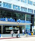 Hospital Roosevelt (Foto Prensa Libre: Hemeroteca PL)
