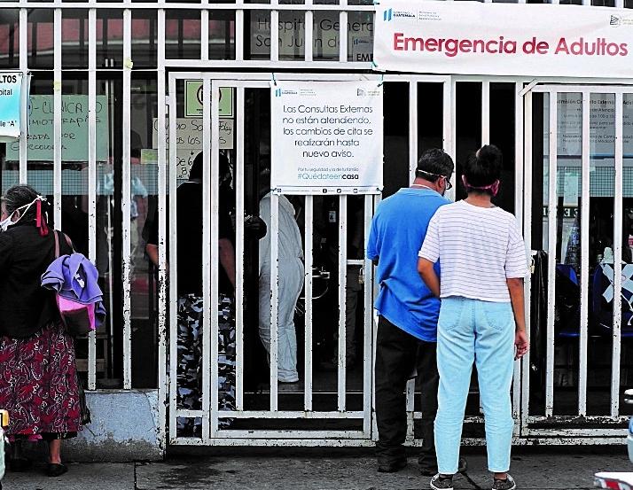 Guatemaltecos siguen padeciendo de otras enfermedades aparte del covid-19