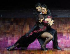 La pareja ganadora del concurso . Foto Prensa Libre: AFP
