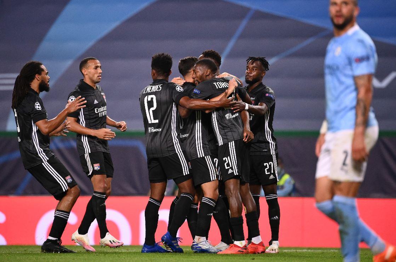 Lyon elimina al favorito Manchester City y se clasifica a las semis de la Champions