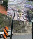 Así será el paso a desnivel que la municipalidad capitalina construye hacia Cayalá. (Foto Prensa Libre: captura de pantalla)