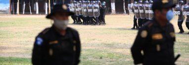 Los agentes de la PNC capturados son señalados de varios delitos como plagio o secuestro. (Foto HemerotecaPL)