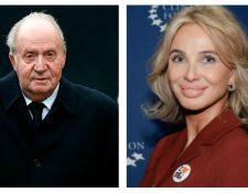 Corinna Larsen alcanzó la popularidad debido a su vínculo con el rey emérito, Juan Carlos I. (Foto Prensa Libre: EFE)