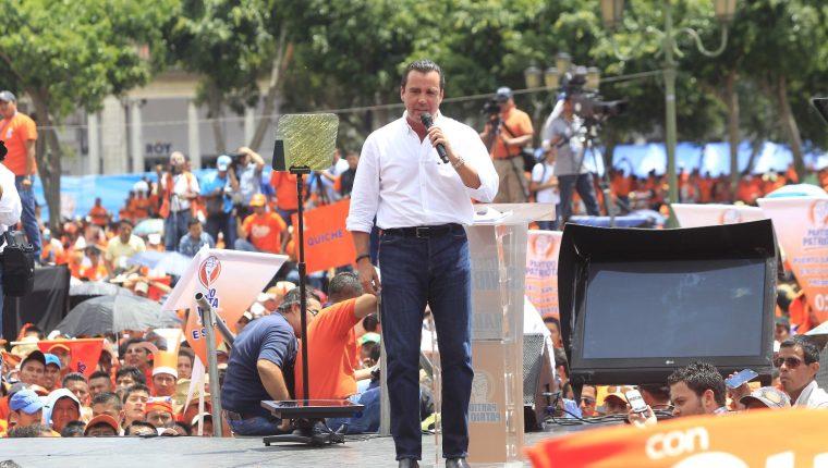 Alejandro Sinibaldi es nominado candidato presidencial del Partido Patriota. (Foto Prensa Libre: Hemeroteca PL)