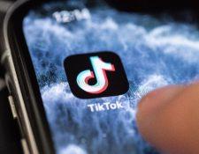 El presidente de EE. UU., Donald Trump, anunció el 31 de julio por la noche su intención de prohibir en el país la red social china TikTok. (Foto Prensa Libre: EFE)