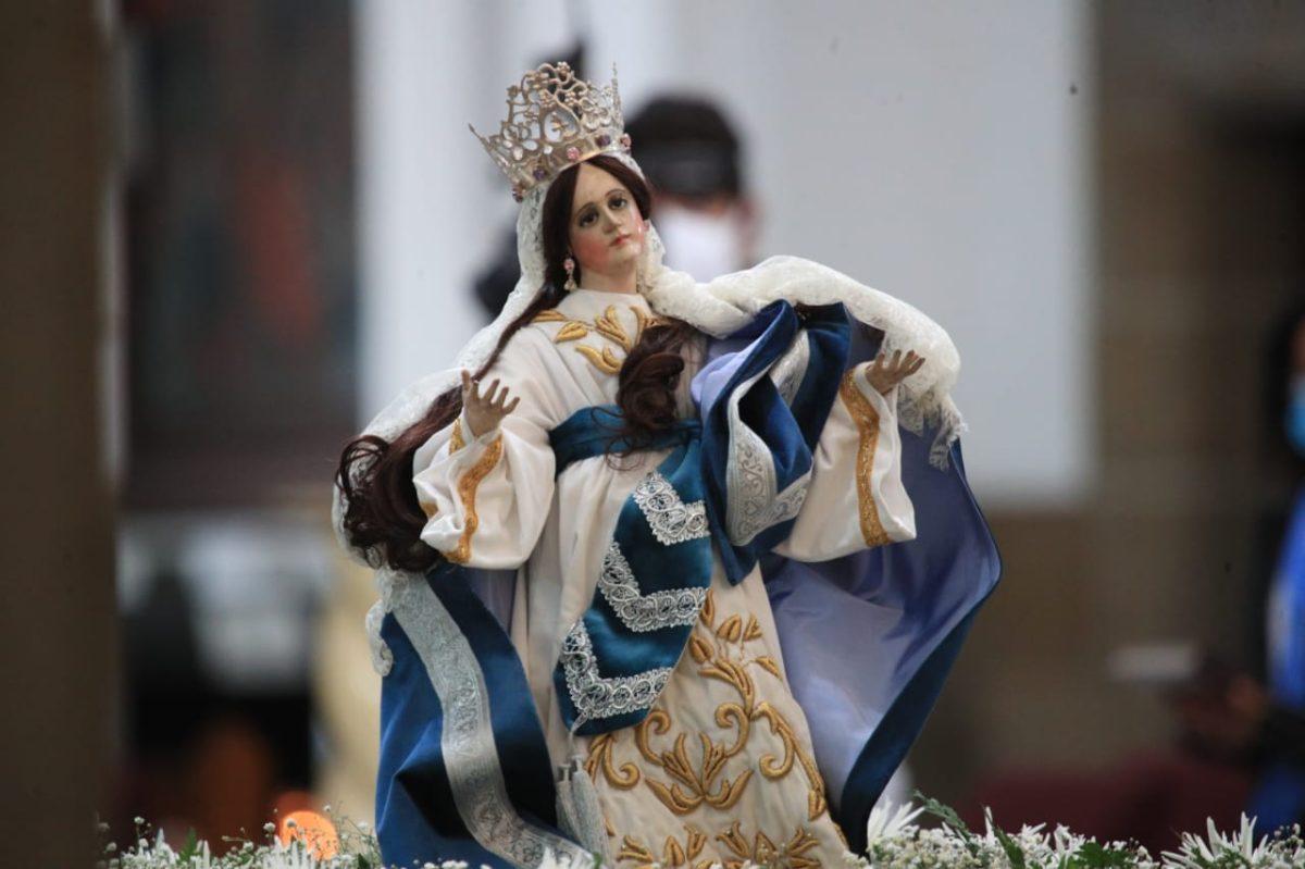 En la pandemia del coronavirus así se vive la fiesta de la Virgen de la Asunción: procesión, conciertos y más