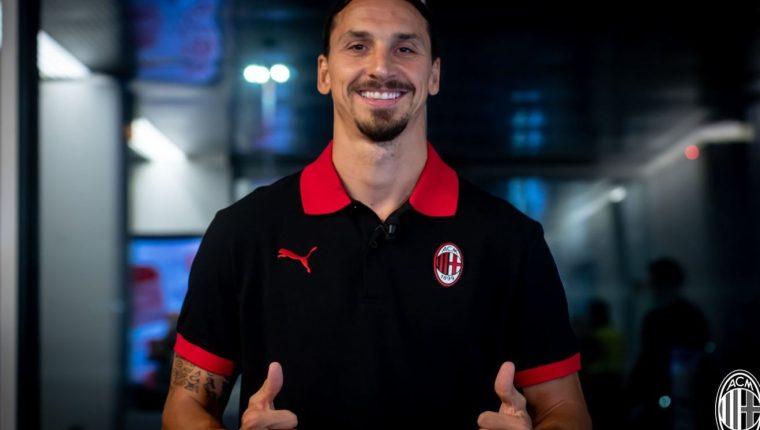 Ibrahimovic prolongará su aventura con el AC Milán, donde espera ayudar al equipo a ganar títulos. (Foto AC Milán).