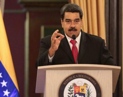 Nicolás Maduro afirmó que el presidente de Estados Unidos, Donald Trump, ordenó matarlo. (Foto Prensa Libre: AFP)