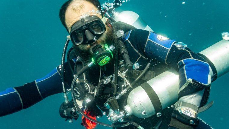 El arqueólogo subacuático Roberto Junco ha estado involucrado en algunos de los hallazgos recientes más importantes del continente americano.