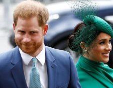 Harry y Meghan anunciaron que dejaban la familia real en enero.