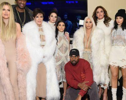 La familia Kardashian fue conocida a través de las pantallas de televisión de EE.UU.