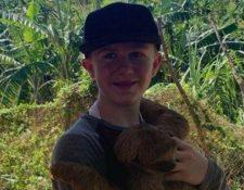 Linden Cameron, un niño en el espectro autista, recibió disparos de la policía en Estados Unidos. GOLDA BARTON