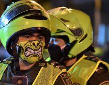 Como en otros países, la policía ha tenido que jugar un rol clave para mantener el aislamiento social en la pandemia.
