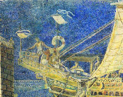 La torre de señalización del puerto de Alejandría nos dio la palabra 'faro' y es una de las 7 maravillas del mundo antiguo.