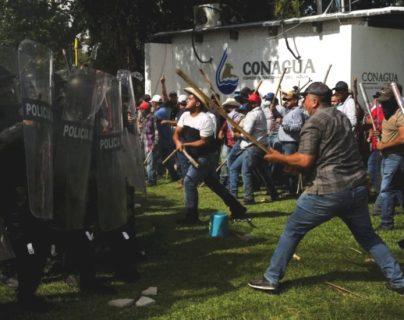 Los enfrentamientos entre agricultores de Chihuahua y miembros de la Guardia Nacional aumentaron en los últimos días por el cumplimiento de un tratado de aguas firmado entre México y EE.UU.