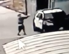 El video muestra el momento del ataque.