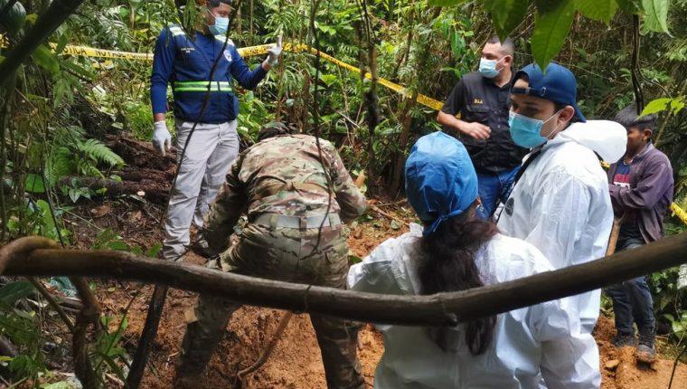 La fosa fue descubierta en un lugar remoto en las montañas de Panamá.