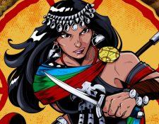 Janequeo aparece en escena en 1587 y se hace guerrera para vengar la muerte de su esposo