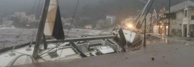 Ianos está causando estragos en Grecia.