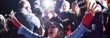 """""""4 años más"""" es uno de los reclamos de esta campaña de Trump."""