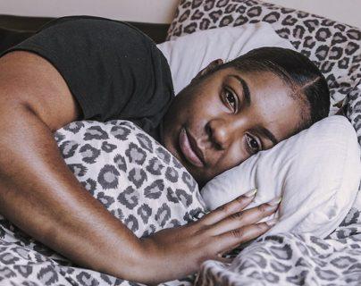 Jade Gray-Christie nunca fue hospitalizada, pero meses después de haberse recuperado sufre fatiga crónica.