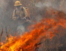 Parte de la atención mediática está centrada en los incendios en California, pero los fuegos también abrasan Sudamérica.