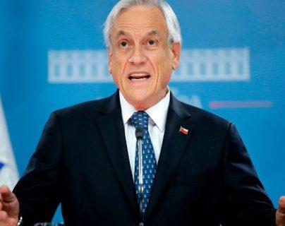 Unas horas antes de conocerse la postura final del gobierno con respecto al acuerdo, Piñera aseguró que Chile estaba html5-dom-document-internal-entity1-quot-endtotalmente comprometidohtml5-dom-document-internal-entity1-quot-end con el cambio climático.