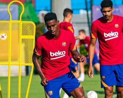 El FC Barcelona finalizó la primera semana de entrenamientos bajo el mando del técnico Ronald Koeman. Foto Prensa Libre: Tomada de redes del FC Barcelona.