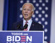 Joe Biden, candidato demócrata a la Casa Blanca. (Foto Prensa Libre: AFP)