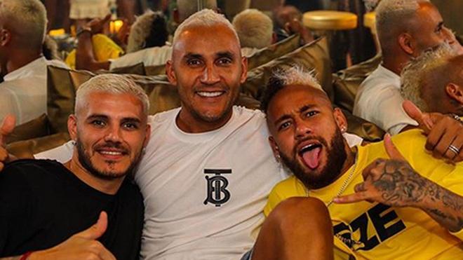 Ola de contagios en el PSG: Keylor, Neymar e Icardi dan positivo de coronavirus
