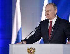 Vladímir Putin, presidente de Rusia. (Foto Prensa Libre: Hemeroteca PL)