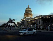La Habana, Cuba, se somete desde el martes 1 de septiembre a las medidas más restrictivas impuestas por el gobierno desde el inicio de la pandemia. (Foto Prensa Libre: EFE)