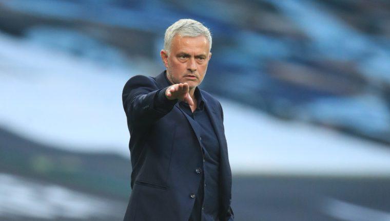 Jose Mourinho es el actual entrenador del Tottenham. (Foto Prensa Libre: EFE)