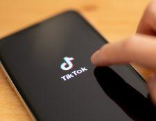 Tiktok , una de las redes más populares se ha convertido en un blanco recurrente de críticas de que su propiedad china lo convierte en un riesgo de seguridad. (Foto, Prensa Libre: Efe).